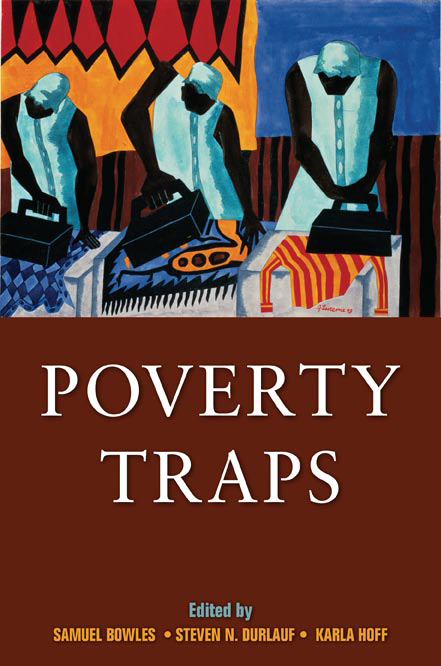 Poverty Traps book cover